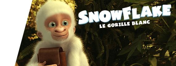 Snowflake – Le gorille blanc