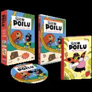 petit poilu livre+DVD 3D eclate